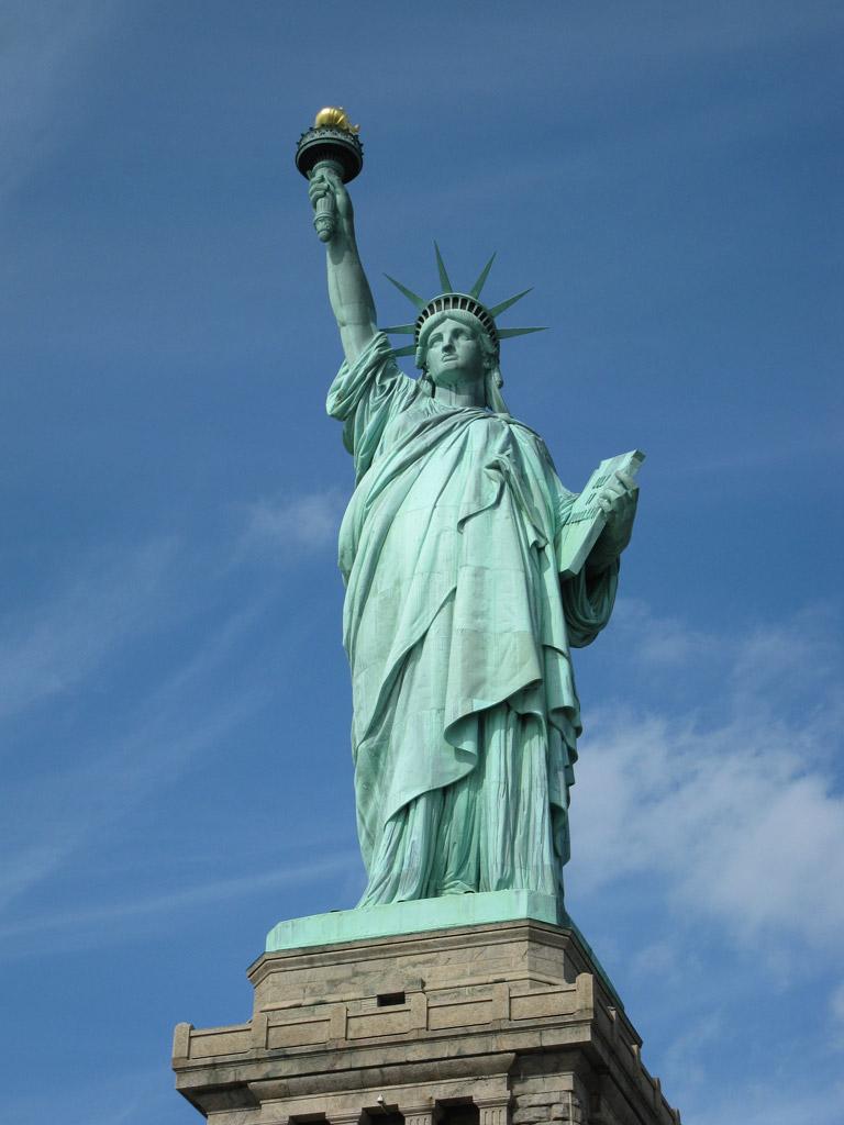 NY自由の女神 写真
