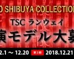 東京・福岡2か所開催!!有名プロデューサーチームによる、「TSC(東京渋谷コレクション)に参加のモデルによる、新しいガールズユニット」メンバー募集!!(仮)」